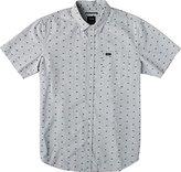 RVCA Men's That'll Do Squares Short Sleeve Shirt