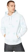J.Crew Garment-Dyed Tie-Dye Hoodie (Chateaux Blue Tonal Tie-Dye) Men's Clothing