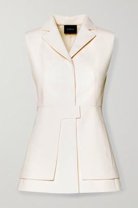 Akris Layered Cotton-blend Vest - Ivory
