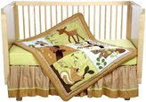 Lambs & Ivy Crib Bedding Set - Enchanted Forest