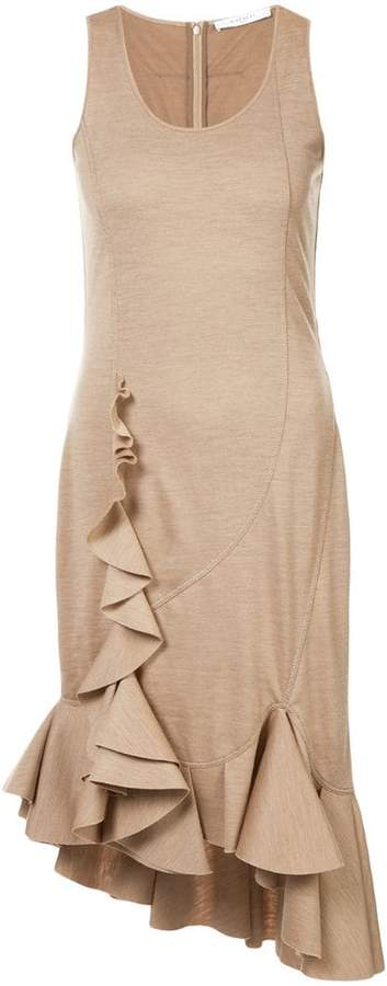 Givenchy sleeveless ruffle dress