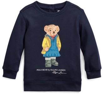 Ralph Lauren Raincoat Bear Terry Sweatshirt