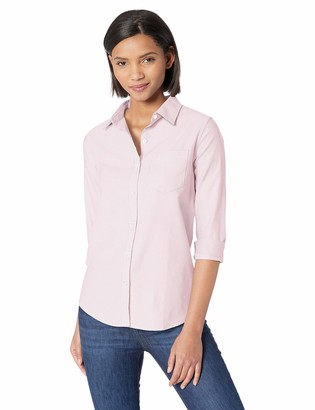 Amazon Essentials Women's Classic-Fit Long-Sleeve Oxford Shirt