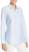 Foxcroft Brooke Stripe Non-Iron Shirt