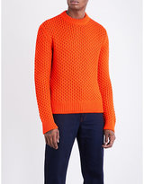 Calvin Klein 205w39nyc Jacquard-knit Wool-blend Jumper