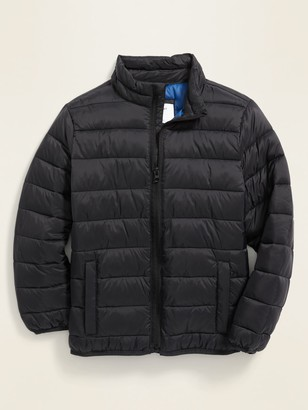 Old Navy Water-Resistant Packable Quilted Jacket for Boys