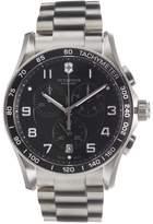Victorinox Men's Chrono Classic XLS Black Bracelet Watch