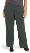 Eileen Fisher Plus Size Women's Straight Leg Pants