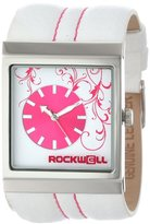 Rockwell Time Unisex MC101 Mercedes White Leather and Pink Watch