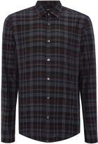 HUGO BOSS Men's Reid F multi check long sleeve shirt