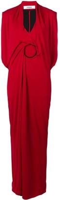 Chalayan Contrast Hoop Dress