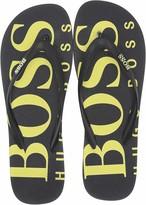HUGO BOSS BOSS Green Men's Wave Thong Sandal Flip-Flop