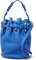Alexander Wang Diego studded textured-leather shoulder bag