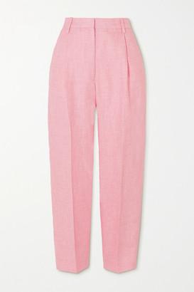 REMAIN Birger Christensen Paris Linen Tapered Pants - Pink