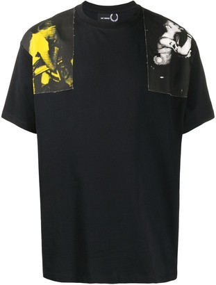 Fred Perry Photographic Print T-Shirt