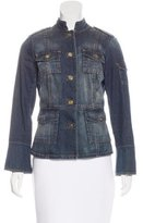Tory Burch Denim Collar Jacket