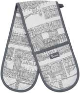 Harrods Brompton Double Oven Glove, Grey