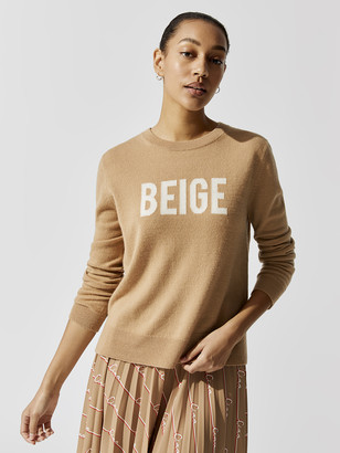 Chinti and Parker Beige Sweater