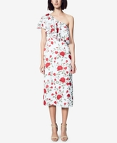 Fame and Partners Fame and Partners Floral Ruffle One-Shoulder Dress