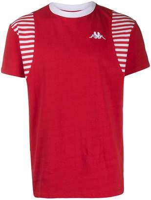 Kappa stripe panel T-shirt