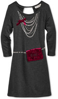 Jessica Simpson Purse-Pocket Dress, Big Girls (7-16)