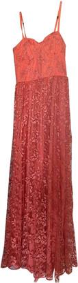 Alice + Olivia Orange Lace Dress for Women