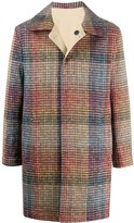 Missoni Single Breasted Checked Coat