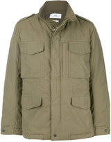 Closed cargo jacket