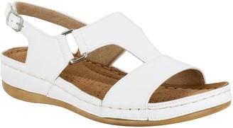 Easy Street Shoes Comfort Adjustabel Slingback Sandals - Sami