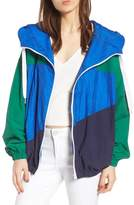 KENDALL + KYLIE Colorblock Windbreaker Jacket