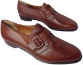 Salvatore Ferragamo Brown Leather Flats