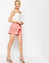 Asos Ruffle Occasion Shorts