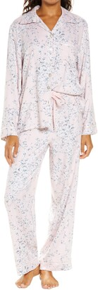 Papinelle Cherry Blossom Pink Cozy Pajamas