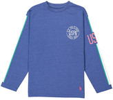 Uspa USPA Boys' Tee Shirts SUMMER - Royal Blue 'USPA Since 1890' Crewneck Top - Boys