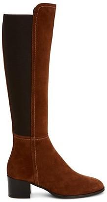 Aquatalia Nova Knee-High Suede Boots