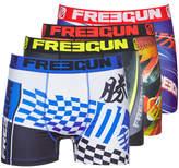 Freegun LOT DE 4 BOXERS HOMME FREEGUN MULTICOLORE