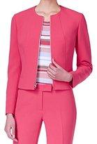 Anne Klein Women's Zip Front Jacket