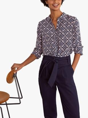 Boden The Silk Shirt, Ornate Lattice