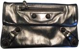 Balenciaga Silver clutch