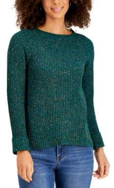 Style&Co. Style & Co Plus Size Pointelle Sweater, Created for Macy's