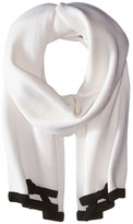 Kate Spade Contrast Bow Muffler Scarves