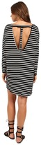 Culture Phit Vienna 3/4 Sleeve Striped Dress
