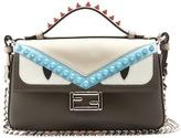 Fendi Double Micro Baguette leather cross-body bag