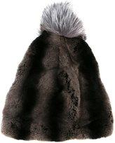 N.Peal bobble hat