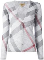 Burberry 'Nova Check' cardigan - women - Cashmere/Merino - XS