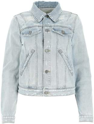 Givenchy Distressed Denim Jacket