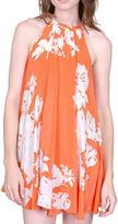 BOULEE jessica trapeze orange dress