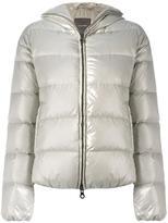 Duvetica zipped hooded jacket