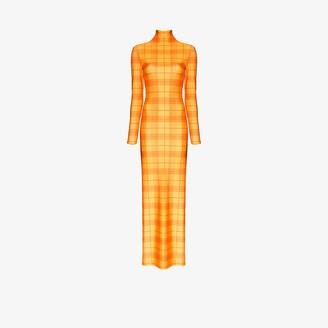 Supriya Lele Madras check maxi dress