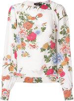 Isabel Marant Ioudy floral print blouse - women - Silk - 32